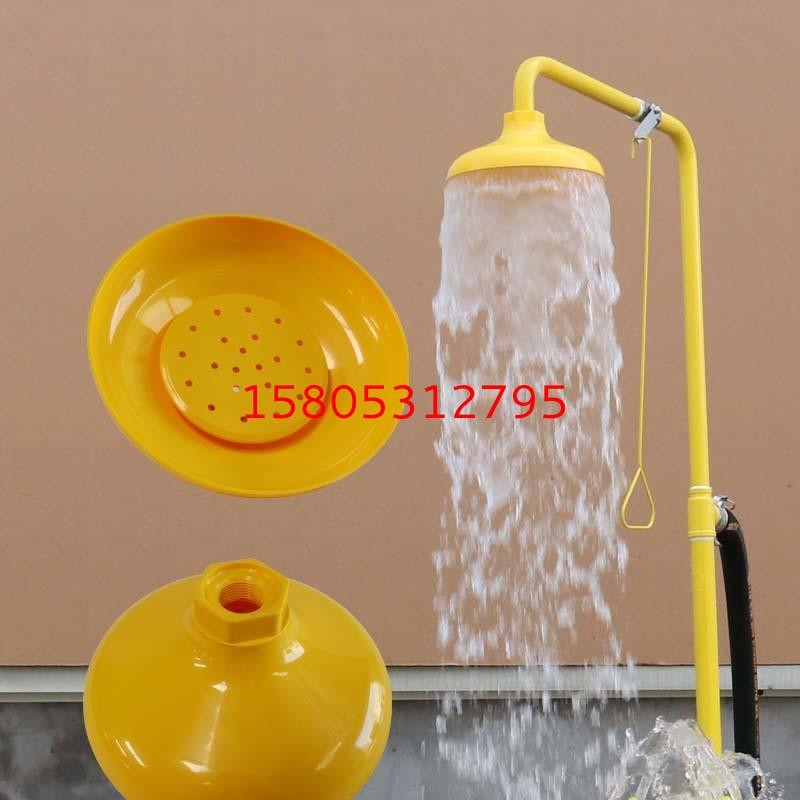 化工厂专用JC-6610ABS复合式洗眼器 锦程安全304耐腐蚀防酸碱洗眼器